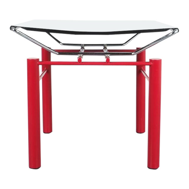 Hans Ullrich Bitsch Side Table Series 8600, Circa 1980 For Sale