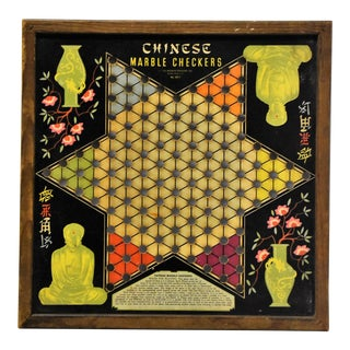 1930's Chinese Checker Board
