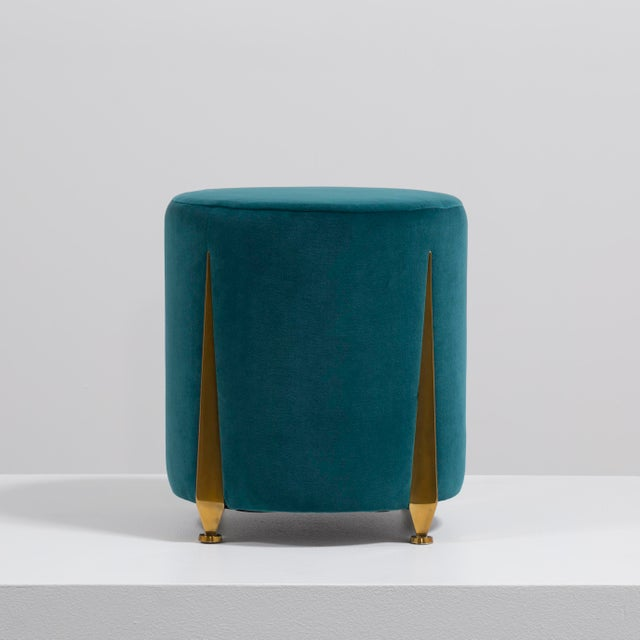 The Iris Stool by Talisman Bespoke Price includes 20% VAT which is removed for items shipped outside the EU.
