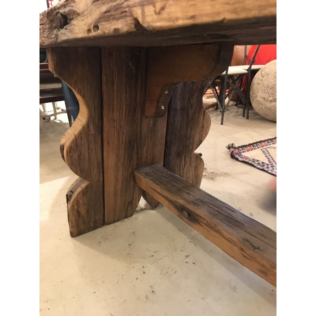 Primitive Spanish TABLE - Image 8 of 9
