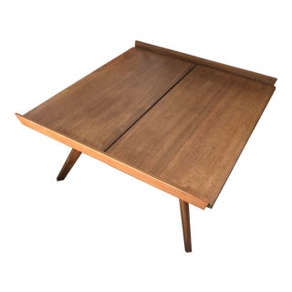 George Nakashima Splay Leg Coffee Table for Knoll/Dwr For Sale