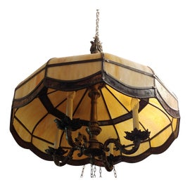 Image of Stained Glass Chandeliers