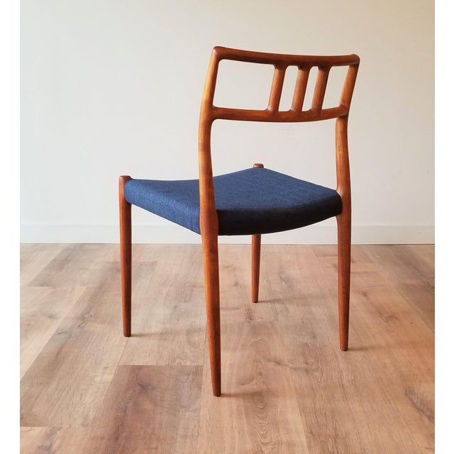 1960s Newly Upholstered Niels Moller Model 79 Side Chairs - Set of 4 For Sale In Seattle - Image 6 of 13
