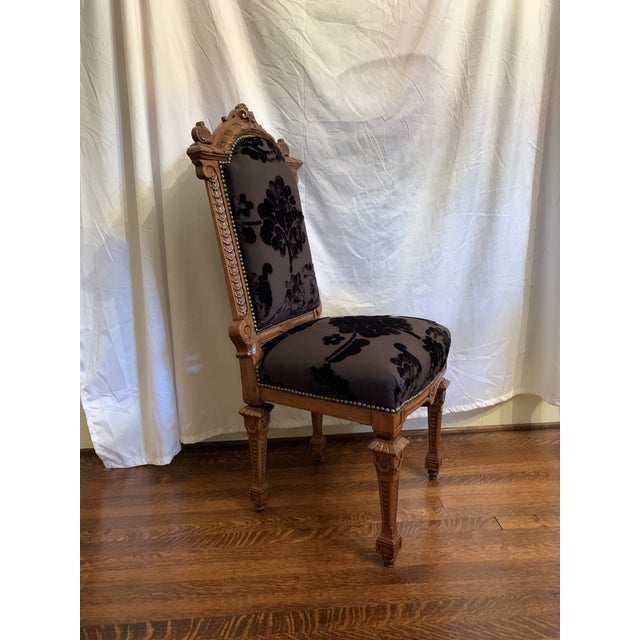 Traditional Renaissance Revival Dining Chairs Set of 12 For Sale - Image 3 of 13