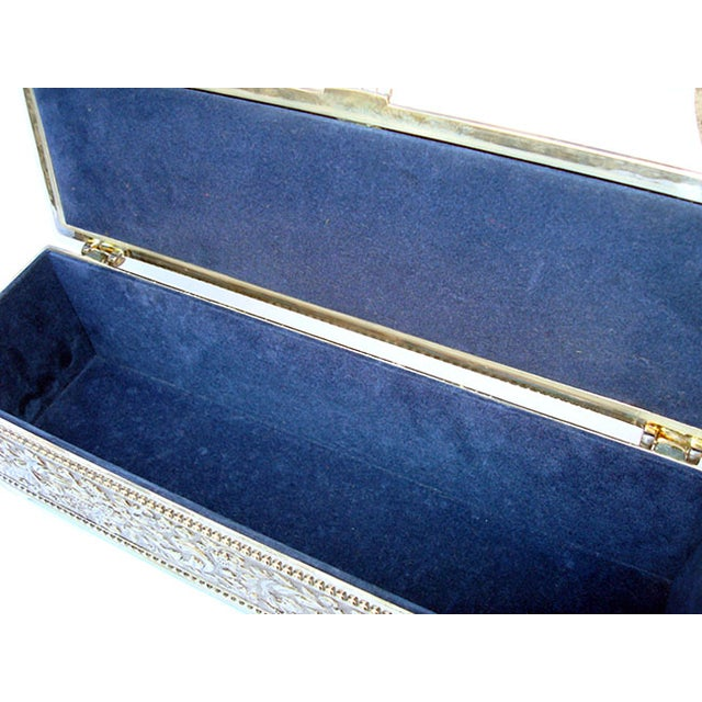 Bejeweled Vintage Keepsake Box - Image 6 of 8