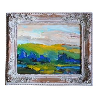 Original California Landscape Oil Painting by Juan Guzman For Sale