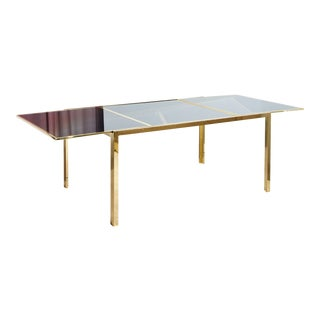 Mid-Century Modern Expandable Dining Table For Sale