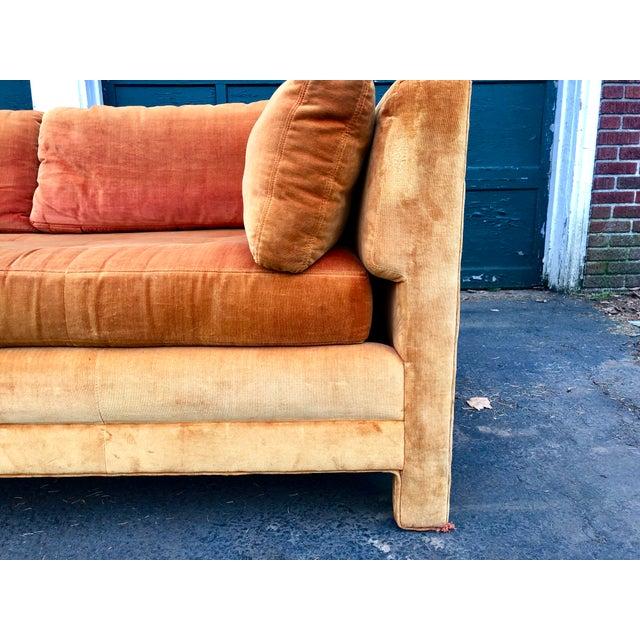 Fabric Vintage Mid Century Erwin Lambeth Sofa For Sale - Image 7 of 13