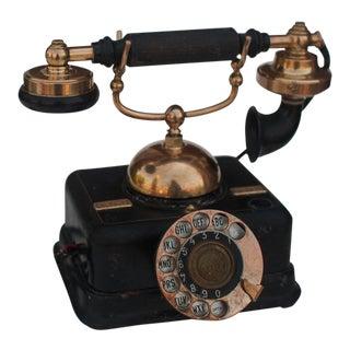 1910s Antique Danish Cradle Telephone For Sale