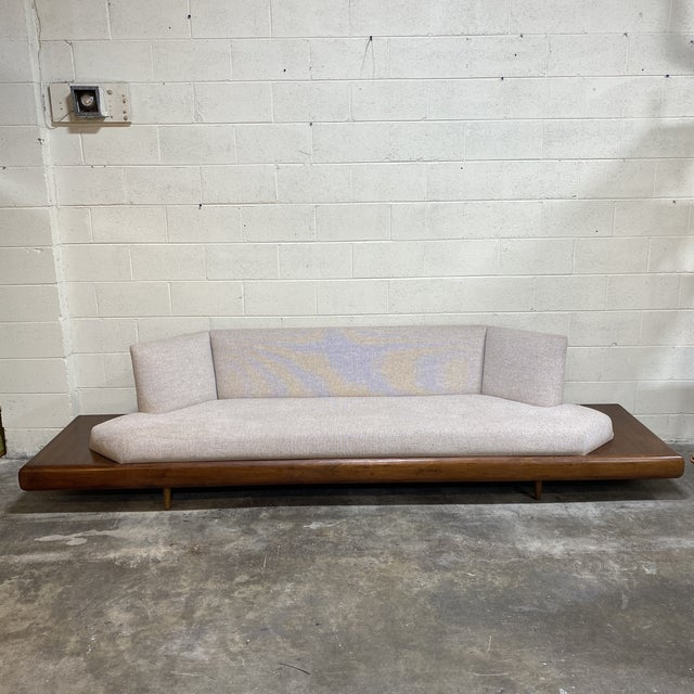 Adrian Pearsall Platform Sofa For Sale - Image 12 of 12