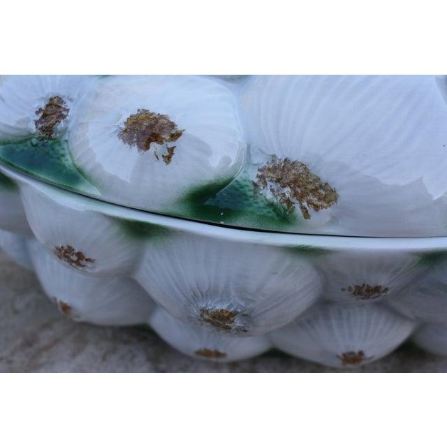 Neiman Marcus Italian Garlic Bulb Tureen / Covered Casserole Dish For Sale - Image 9 of 11