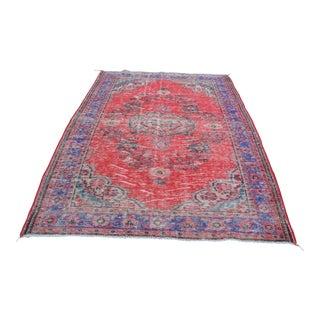 "Anatolian Tribal Floor Carpet - 6' x 9'6"""