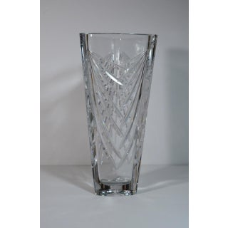 Galway Irish Tall Cut Glass Lead Crystal Vase Preview