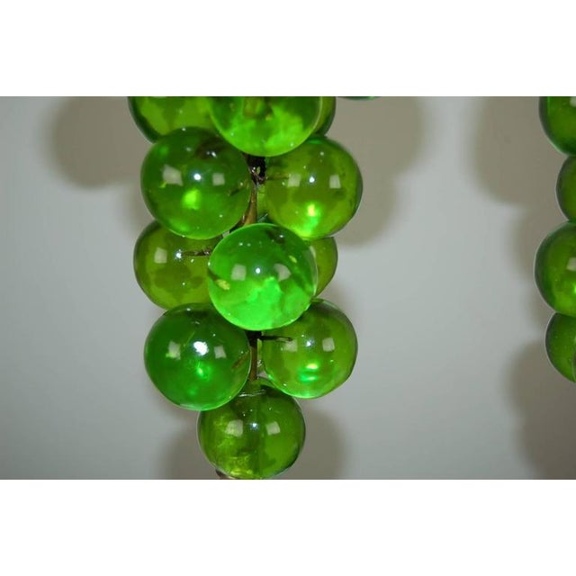 Vintage Bubble Table Lamps by Silvano Pantani, 1966 Lime Green For Sale - Image 9 of 10
