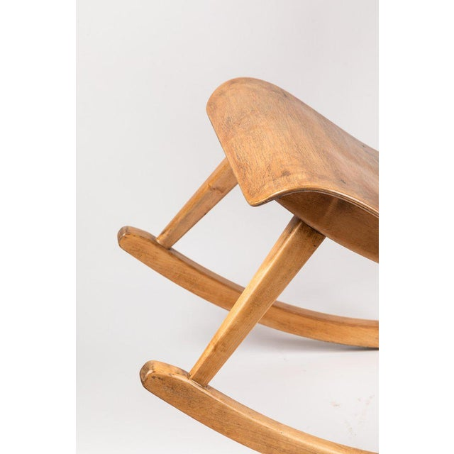 1940s Vintage Ilmari Tapiovaara Rocking Chair For Sale - Image 9 of 13