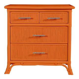 Aruba Four-Drawer Chest - Orange For Sale