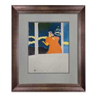 Henri De Toulouse-Lautrec Limited Edition Lithograph with Frame For Sale