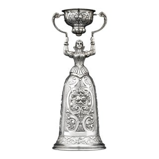 German Silver Wedding Cup For Sale
