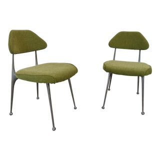 Shelby Williams Mid-Century Modern Side Chairs - a Pair For Sale