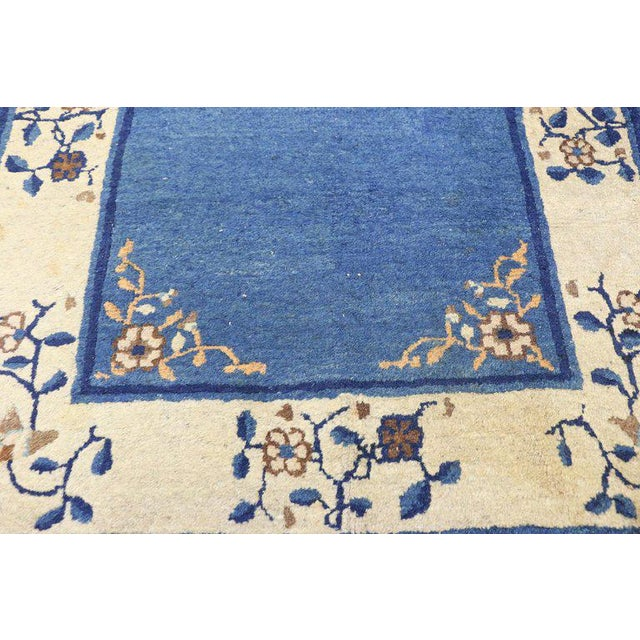"""Early 20th Century Antique Chinese Peking Accent Rug - 3'00"""" × 5′9″ For Sale In Dallas - Image 6 of 8"""