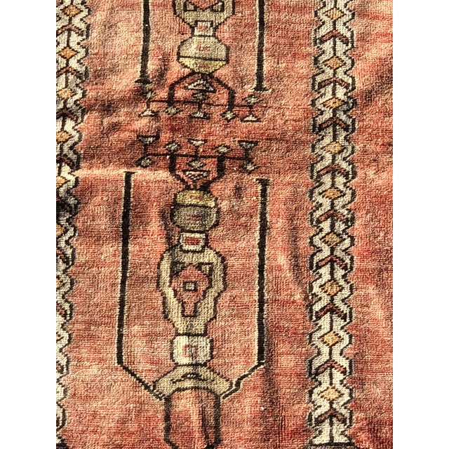 This is a vintage Turkish runner rug. The piece is from the 1940s.