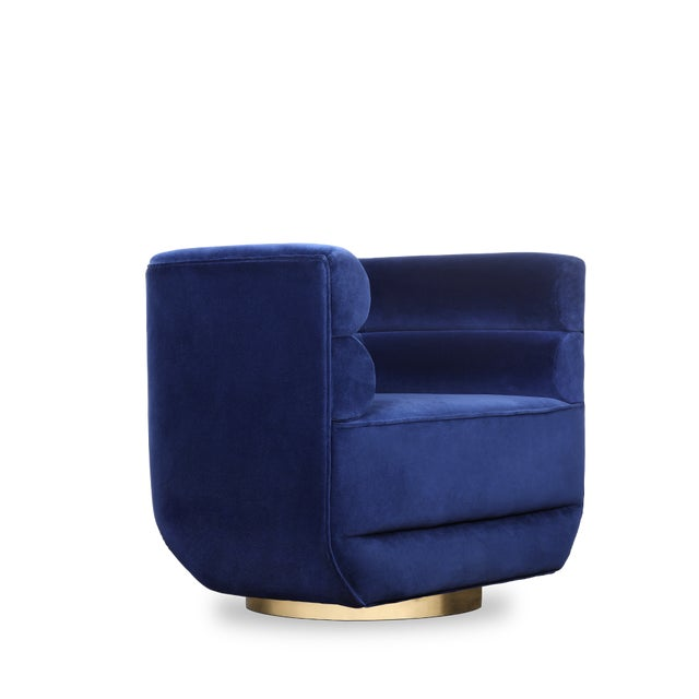 Inspired by the mid-century retro designs, Lorean features a simple and sophisticated design. Loren armchair has a swivel...