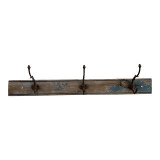 Antique Rustic French Wall Hooks For Sale