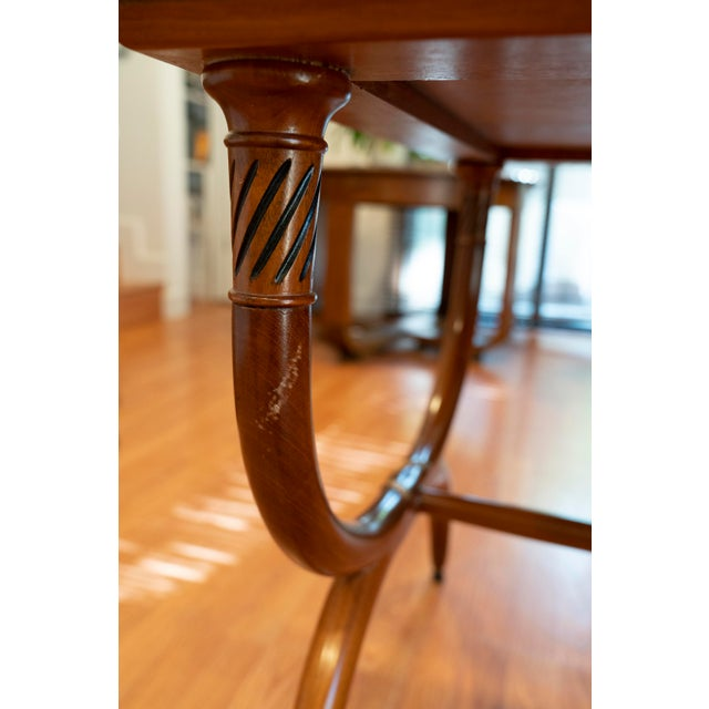 1960s Vintage Robsjohn-Gibbings Side Tables - a Pair For Sale - Image 9 of 11