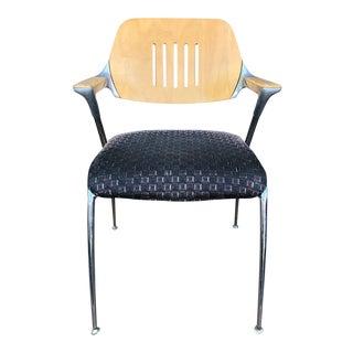 "Vintage Francesco Zaccone Thonet ""Golf"" Aluminum Chair"