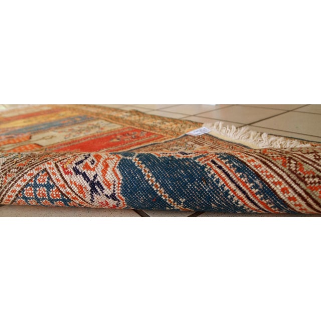 1960s Handmade Turkish Kayseri Runner - 2' X 5.6' - Image 10 of 10