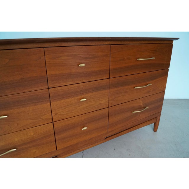 La Period Mid-Century Modern Lowboy Dresser For Sale - Image 9 of 13