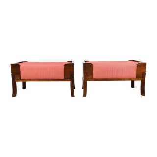 Bill Sofield for Baker Saddle Benches - A Pair For Sale
