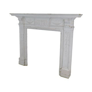 Antique Federal Style Fireplace Mantel For Sale