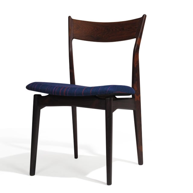 H.P. Hansen H. P. Hansen for Randers Danish Rosewood Dining Chairs - Set of 6 For Sale - Image 4 of 11