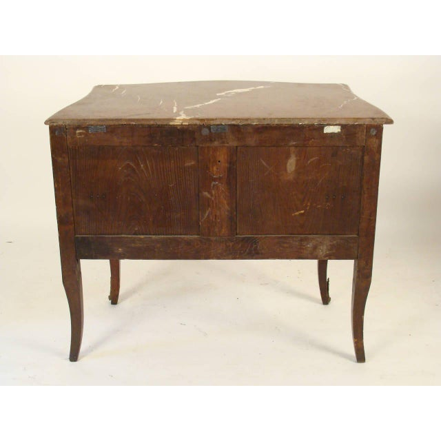 Orange Late 19th Century Louis XV Style Bombe Commode For Sale - Image 8 of 11