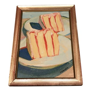 Piece of Cake Painting by Dansereau For Sale