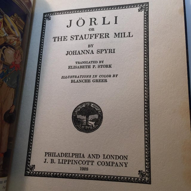 "1928 ""Jorli by Johanna Spryi"" 1st Edition - Image 4 of 7"