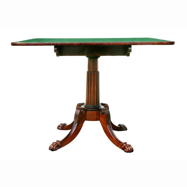 Pair of Regency Rosewood Games Tables For Sale - Image 10 of 13