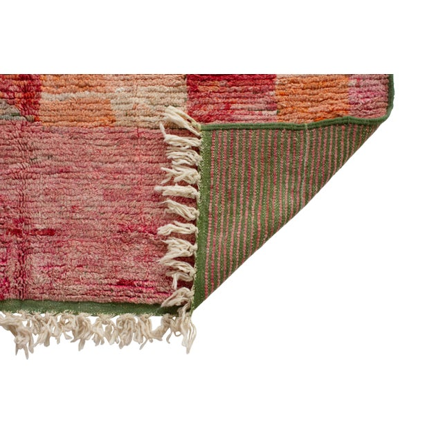 """Moroccan Berber Wool Rug- 7'11""""x5'8"""" For Sale - Image 4 of 5"""