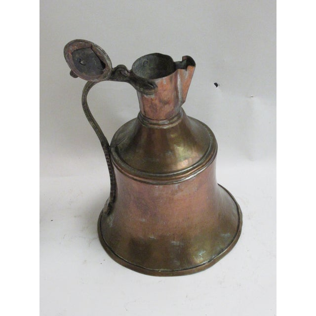 Copper Farmhouse Water Pitcher For Sale - Image 8 of 10