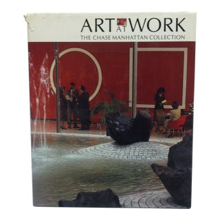 "Coffee Table Display Book ""Art at Work - the Chase Manhattan Collection"" - 1984 For Sale"