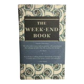 """The Weekend Book"" Hardcover Book"