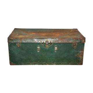 Metal Green Trunk