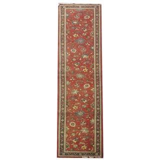 Vintage Persian Tabriz Rug - 3′ × 16′2″ For Sale