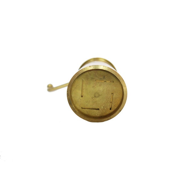 Vintage Gold Brass Sheetal Kitchen Round Cookie Pastry ...