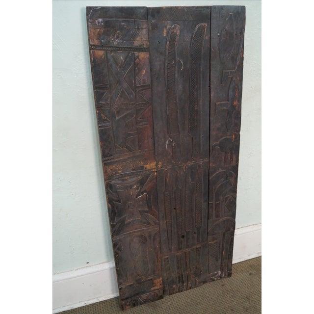 Tribal African Dogan Door (C) For Sale - Image 10 of 10