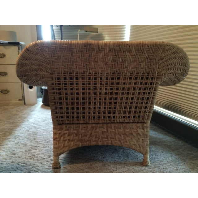 Wicker Chaise Lounge - Image 4 of 5