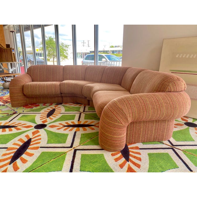 1980s High Style Sofa For Sale - Image 11 of 11