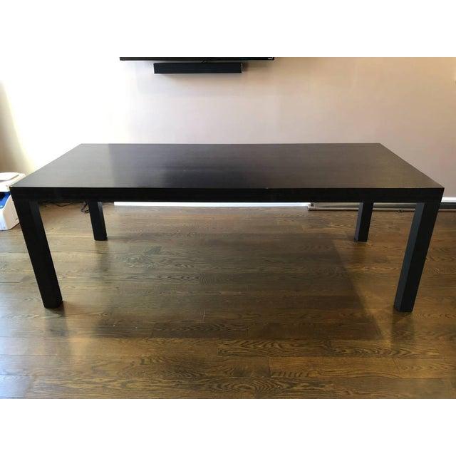 Ligne Roset Walnut Dining Table For Sale - Image 11 of 11