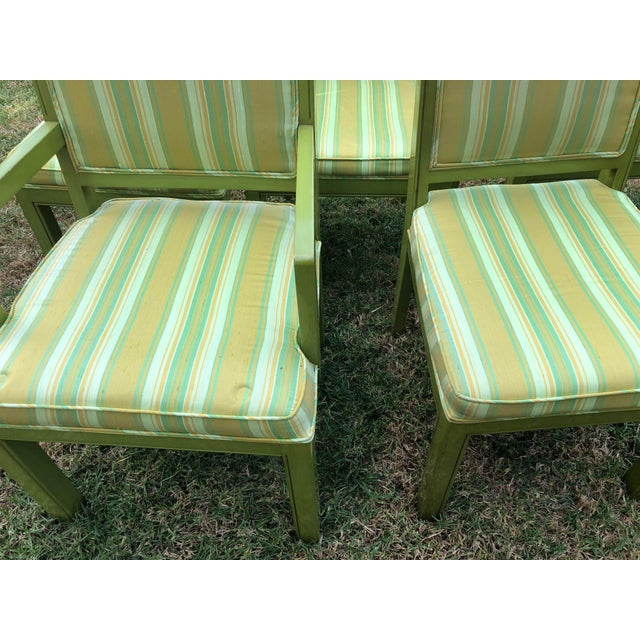 Contemporary 1970s Vintage Louis G Sherman Chairs - Set of 5 For Sale - Image 3 of 11